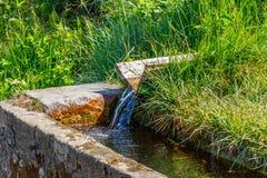 Φρεάτιο νερού στοκ εικόνα