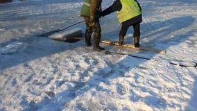Φρενάρισμα πάγου επάνω στη λίμνη της Γιούτα φιλμ μικρού μήκους