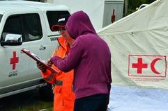 Φρικτός ανεμοστρόβιλος στο Ώκλαντ, Νέα Ζηλανδία Στοκ εικόνα με δικαίωμα ελεύθερης χρήσης