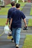 Φρικτός ανεμοστρόβιλος στο Ώκλαντ, Νέα Ζηλανδία Στοκ Εικόνα