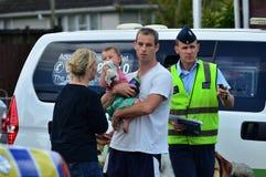 Φρικτός ανεμοστρόβιλος στο Ώκλαντ, Νέα Ζηλανδία Στοκ εικόνες με δικαίωμα ελεύθερης χρήσης