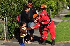 Φρικτός ανεμοστρόβιλος στο Ώκλαντ, Νέα Ζηλανδία Στοκ φωτογραφία με δικαίωμα ελεύθερης χρήσης
