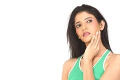 φροντίστε το indan δέρμα της πο& στοκ φωτογραφίες με δικαίωμα ελεύθερης χρήσης