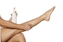 Φροντίδα δέρματος σώματος στοκ εικόνες