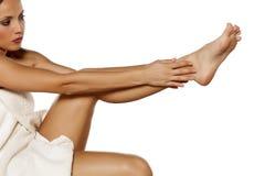 Φροντίδα δέρματος σώματος στοκ εικόνα