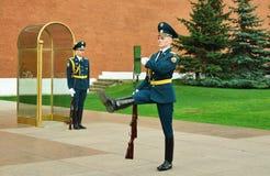 φρουρά αλλαγής Στοκ εικόνες με δικαίωμα ελεύθερης χρήσης
