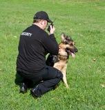 Φρουρά ασφάλειας στοκ φωτογραφία