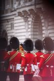 Φρουρά βασίλισσας ` s του Ηνωμένου Βασιλείου στοκ φωτογραφία με δικαίωμα ελεύθερης χρήσης