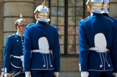 φρουρά βασιλικά σουηδι&ka Στοκ φωτογραφία με δικαίωμα ελεύθερης χρήσης