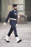 φρουρά βασιλική Στοκχόλμ Στοκ Εικόνα