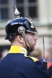 φρουρά βασιλική Στοκχόλμ Στοκ Φωτογραφία