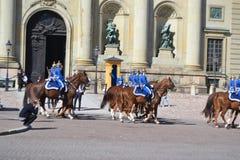 φρουρά βασιλική Σουηδία Στοκ Φωτογραφίες