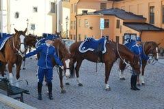 φρουρά βασιλική Σουηδία Στοκ φωτογραφία με δικαίωμα ελεύθερης χρήσης