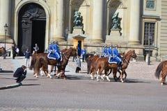 φρουρά βασιλική Σουηδία Στοκ εικόνες με δικαίωμα ελεύθερης χρήσης