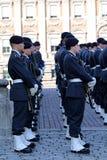 φρουρά βασιλική Σουηδία Στοκ εικόνα με δικαίωμα ελεύθερης χρήσης
