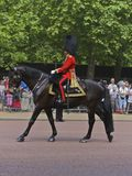 Φρουρά βασιλική, συγκέντρωση του χρώματος, Λονδίνο Στοκ Φωτογραφίες