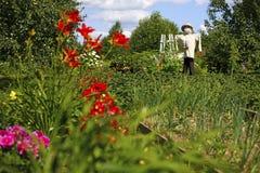 Φρουρά κήπων Στοκ Φωτογραφίες