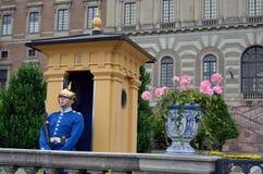 Φρουρά παλατιών, η Royal Palace, Στοκχόλμη Tom Wurl Στοκ φωτογραφία με δικαίωμα ελεύθερης χρήσης