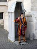 Φρουρά πόλεων του Βατικανού Στοκ εικόνες με δικαίωμα ελεύθερης χρήσης