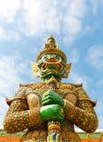 Φρουρά στο ναό Wat Po Στοκ φωτογραφίες με δικαίωμα ελεύθερης χρήσης