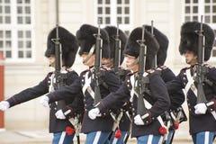 φρουρά της Δανίας βασιλική Στοκ Φωτογραφία