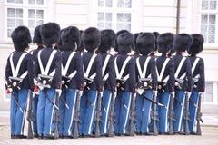 φρουρά της Δανίας βασιλική Στοκ Εικόνα