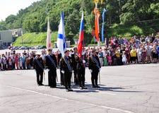 Φρουρά της τιμής Στοκ Φωτογραφίες