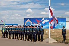 Φρουρά της τιμής Στοκ φωτογραφία με δικαίωμα ελεύθερης χρήσης