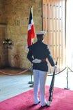 Φρουρά τιμής, εθνικό Pantheon, Δομινικανή Δημοκρατία Στοκ Φωτογραφίες