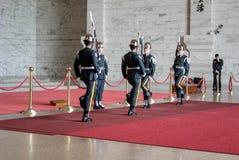 Φρουρά τιμής στην αναμνηστική αίθουσα Chiang Kai -Kai-shek Στοκ φωτογραφία με δικαίωμα ελεύθερης χρήσης