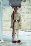 Φρουρά τιμής Evzone με το τουφέκι 5 Στοκ φωτογραφία με δικαίωμα ελεύθερης χρήσης