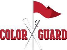 Φρουρά χρώματος Στοκ φωτογραφίες με δικαίωμα ελεύθερης χρήσης