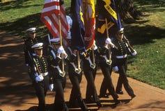 Φρουρά χρώματος Midshipmen στοκ φωτογραφίες με δικαίωμα ελεύθερης χρήσης