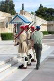 Φρουρά Evzones Στοκ Φωτογραφίες