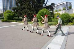 Φρουρά Evzones Στοκ Εικόνα