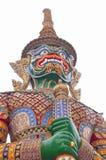 Φρουρά Intrajit φυλάκων, Wat Phra Kaew, Ταϊλάνδη Στοκ Φωτογραφία