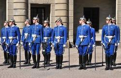 φρουρές βασιλικές Στοκ εικόνες με δικαίωμα ελεύθερης χρήσης