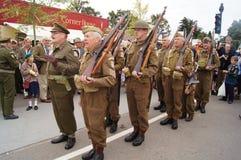Φρουρές 'Οικωών στρατού μπαμπά Στοκ Εικόνες