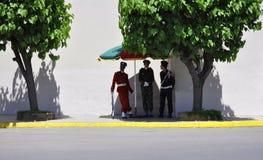 Φρουρές στη Καζαμπλάνκα, 20.2012 Απριλίου στοκ φωτογραφίες