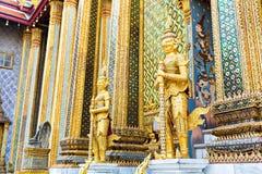 Φρουρές του ναού Wat Po Στοκ φωτογραφία με δικαίωμα ελεύθερης χρήσης