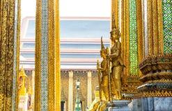 Φρουρές του ναού Wat Po Στοκ εικόνα με δικαίωμα ελεύθερης χρήσης