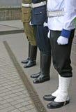 φρουρές τρία Στοκ Εικόνες