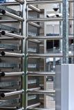 Φρουρημένη είσοδος σταδίων πλήρης-ύψους περιστροφική πύλη Στοκ εικόνες με δικαίωμα ελεύθερης χρήσης