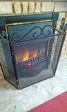 Φρουρημένη ηλεκτρική πυρκαγιά στοκ φωτογραφία