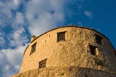 φρούριο ακροπόλεων mostar Στοκ Εικόνα