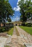 Φρούριο Βελιγραδι'ου και μνημείο του Victor Στοκ εικόνα με δικαίωμα ελεύθερης χρήσης