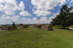 Φρούριο Βελιγραδι'ου και μνημείο του Victor Στοκ εικόνες με δικαίωμα ελεύθερης χρήσης