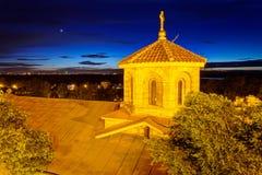 Φρούριο Βελιγραδι'ου και πάρκο Kalemegdan Στοκ Φωτογραφία