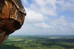 Φρούριο βράχου Sigiriya, Sigiriya, Σρι Λάνκα Στοκ Εικόνες