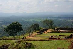 Φρούριο βράχου Sigiriya, Sigiriya, Σρι Λάνκα Στοκ Φωτογραφίες